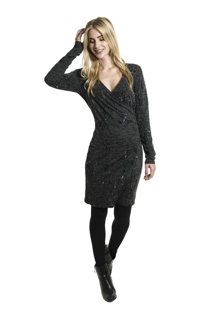 e4378b3fd6e0 Smash AVELINA krátké šaty tmavě šedé AKCE1