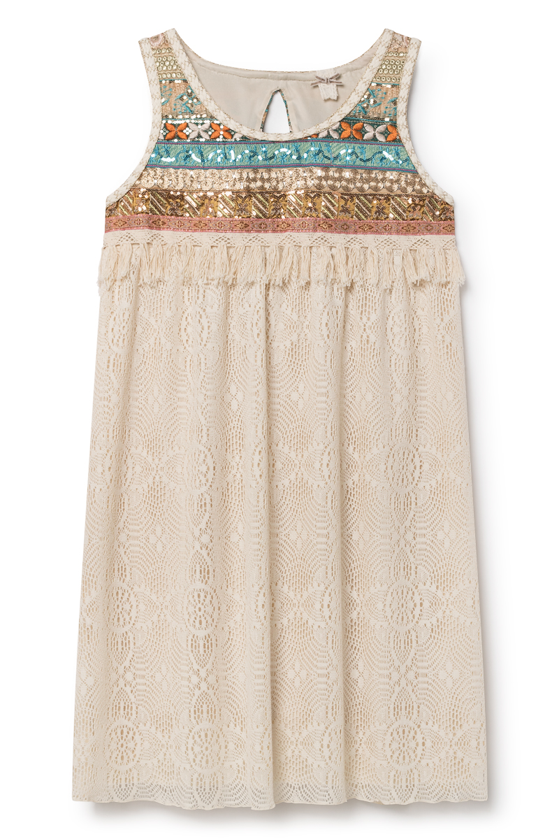 69f0fd0da607 Dámské šaty Nekane SANTORINI.CI - Crudo béžové