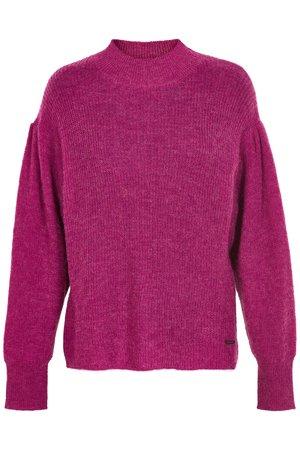 NÜmph 7119212 IDALAH Dámský sveter 3510 FESTIVAL fialová