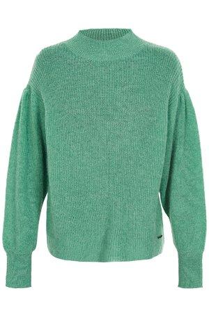 NÜmph 7119212 IDALAH Dámský sveter 4020 C.D.MENTHE zelená