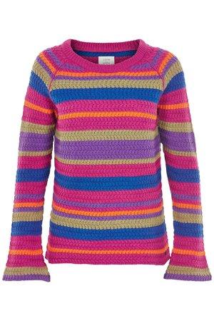 NÜmph 7119215 IOANNA Dámský sveter 3510 FESTIVAL fialová