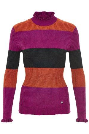 NÜmph 7119225 JARRAH Dámský sveter 1502 ORANGADE oranžová