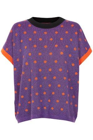 NÜmph 7119232 NEW DARLENE Dámský sveter 3508 G. VIOLET fialová