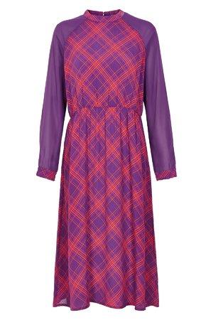 NÜmph 7119817 JADEN Dámské šaty 3508 G. VIOLET fialová