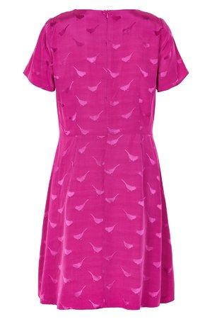 NÜmph 7119825 FLOWNY Dámské šaty 3510 FESTIVAL fialová