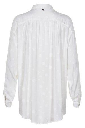 NÜmph 7219004 JOCASTA Dámská košile 9000 B. WHITE bílá