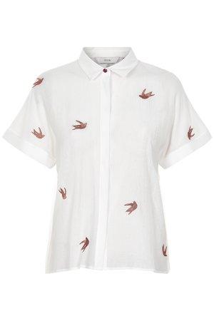 NÜmph 7219005 JOCELYNN Dámská košile 9501 PRISTINE bílá