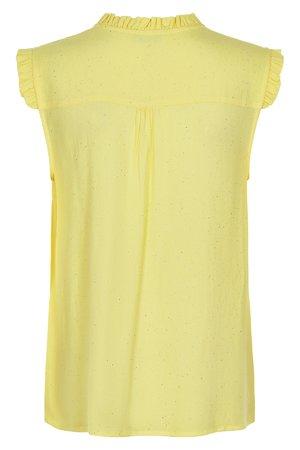 NÜmph 7219012 JEREMINE Dámská košile 1010 YEL. PEAR žlutá