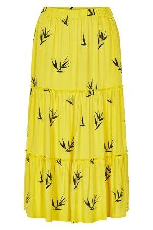 NÜmph 7219109 KAIYA Dámská sukně 1011 MAIZE žlutá