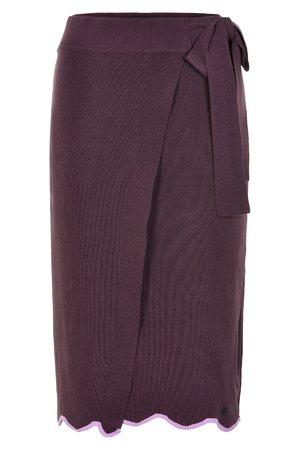 NÜmph 7219111 NEW ENNIS Dámská sukně 3514 PLUM PER. fialová