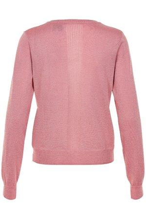 NÜmph 7219201 NEW STEFFIE Dámský sveter 2511 ROSETTE ružová