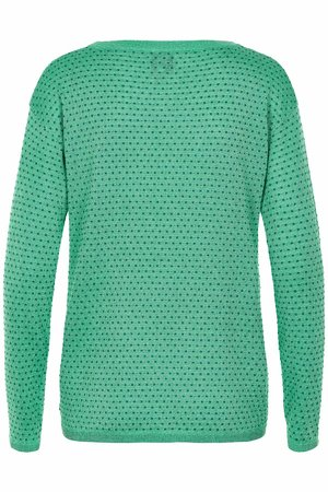 NÜmph 7219204 JAZMINE Dámský sveter 4502 AQUA GREEN zelená