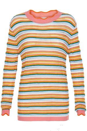NÜmph 7219213 KASSIDY Dámský sveter 6001 MULTI ST mix farieb barev