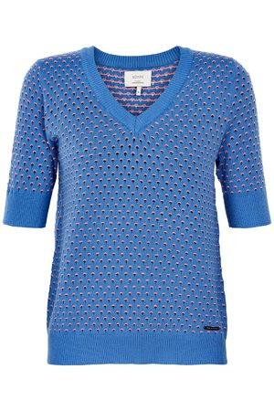 NÜmph 7219215 BRYNN Dámský sveter 3029 REGATTA modrá