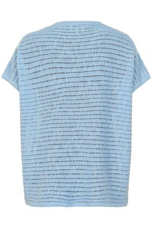 NÜmph 7219222 KATO Dámský sveter 3030 ANGEL FALL modrá