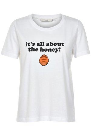 NÜmph 7219333 LARAS Dámské tričko 9000B B.WHITE biela