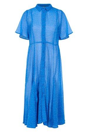 NÜmph 7219806 JOBETH Dámské šaty 3029 REGATTA modrá