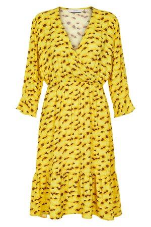 NÜmph 7219808 KAMILA Dámské šaty 1010 YEL. PEAR žltá