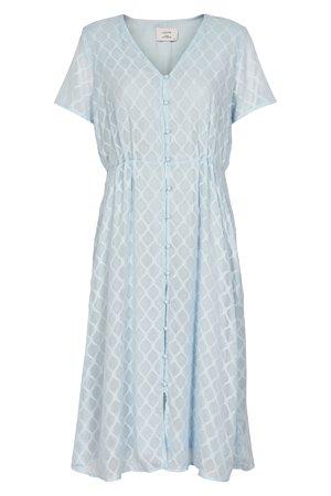 NÜmph 7219810 KALLIMA Dámské šaty 3030 ANGEL FALL modrá