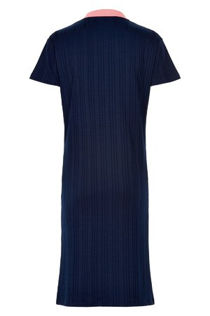 NÜmph 7219815 JOSEPHA Dámské šaty 3031 EVE. BLUE tmavě modrá