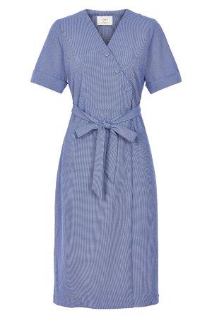 NÜmph 7219825 JENELLE Dámské šaty 3029 REGATTA modrá