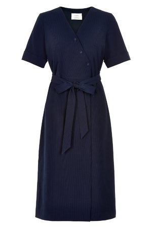 NÜmph 7219825 JENELLE Dámské šaty 3031 EVE. BLUE tmavo modrá