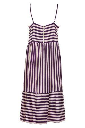 NÜmph 7219826 JENESSA Dámské šaty 3514 PLUM PER. fialová