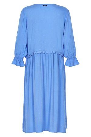 NÜmph 7219827 JENICA Dámské šaty 3029 REGATTA modrá