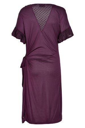 NÜmph 7219835 KENZIE Dámské šaty 3514 PLUM PER. fialová