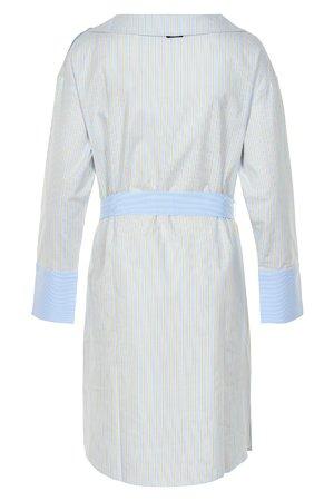 NÜmph 7219838 KIMI Dámské šaty 3030 ANGEL FALL modrá