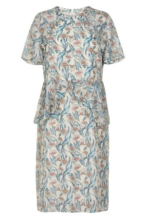 NÜmph 7219840 LADONNA Dámské šaty 9501 PRISTINE béžová