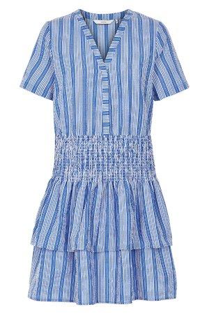 NÜmph 7219841 LAINIE Dámské šaty 3029 REGATTA modrá