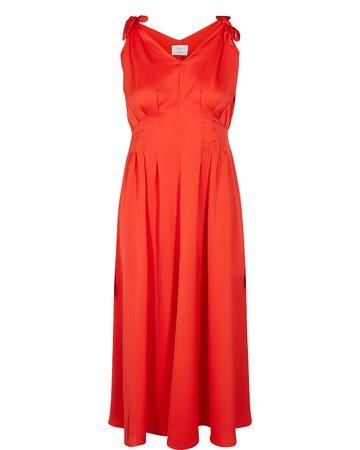 NÜmph CYRILLA Dámské šaty červená