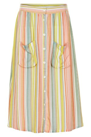 NÜmph 7319104 KIRA Dámská sukně 2518 PEACH NEC. oranžová