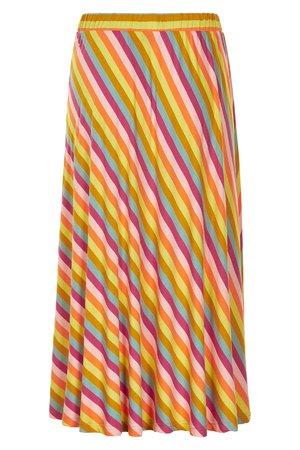 NÜmph 7319105 KIRSTEN Dámská sukně 6001 MULTI ST mix barev barev