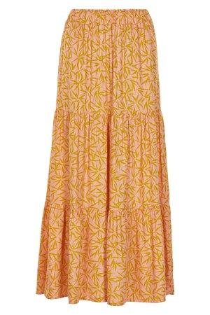 NÜmph 7319107 LAMARR Dámská sukne 2518 PEACH NEC. oranžová