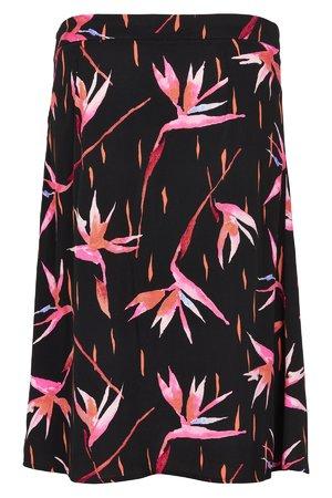 NÜmph 7319113 LETHA Dámská sukně 0000 CAVIAR černá
