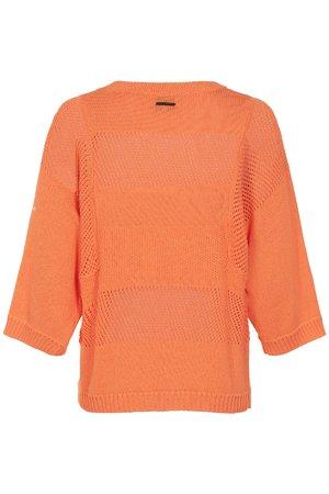 NÜmph 7319205 KRISTINA Dámský sveter 1505 BIRD OF P. oranžová