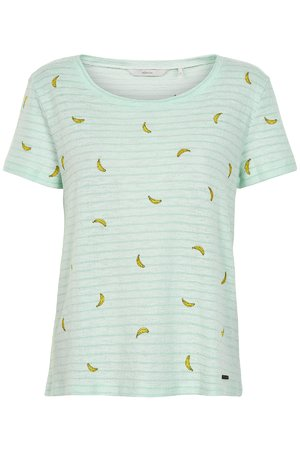 NÜmph 7319309 NEW CHAVA Dámské tričko 4029 BROOK GR zelená