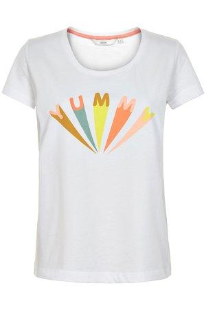 NÜmph 7319313 KARITAS Dámské tričko 9000A B.WHITE bílá