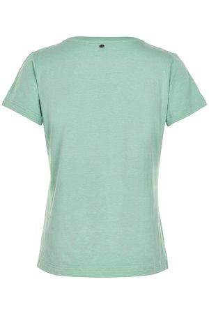 NÜmph 7319318 KAZUMI Dámské tričko 4030 GRANITE GR zelená