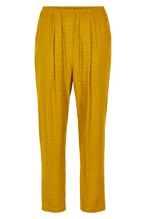 NÜmph 7319614 NEW GREENO Dámské kalhoty 1015 TAWNY O. žlutá