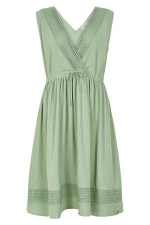 NÜmph 7319802 KIKI Dámské šaty 4030 GRANITE GR zelená