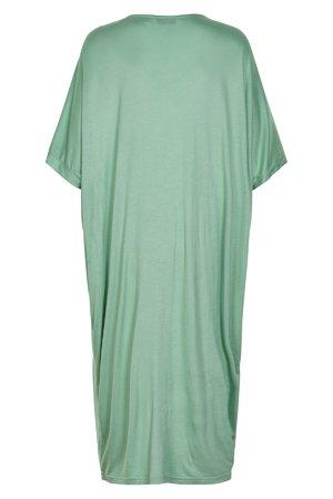 NÜmph 7319807 KIMBER Dámské šaty 4030 GRANITE GR zelená