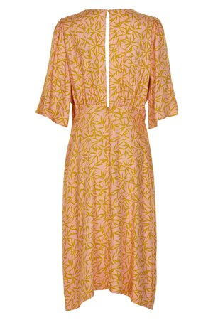 NÜmph 7319810 KISMET Dámské šaty 2518 PEACH NEC. oranžová