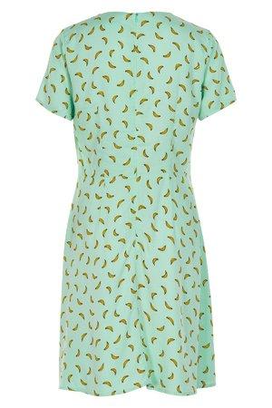 NÜmph 7319811 ANOMA Dámské šaty 4029 BROOK GR zelená