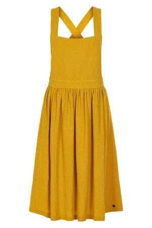 NÜmph 7319813 KINLEY Dámské šaty 1015 TAWNY O. žltá