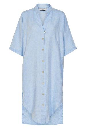 NÜmph 7319819 KODY Dámské šaty 3036 PLACID B. modrá
