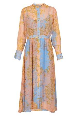 NÜmph 7319823 KYNDALL Dámské šaty 2518 PEACH NEC. oranžová