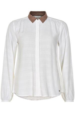 NÜmph 7419012 MACEY Dámská košile 9000 B. WHITE bílá